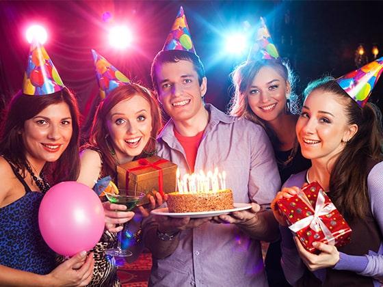birthday parties with cake texas city