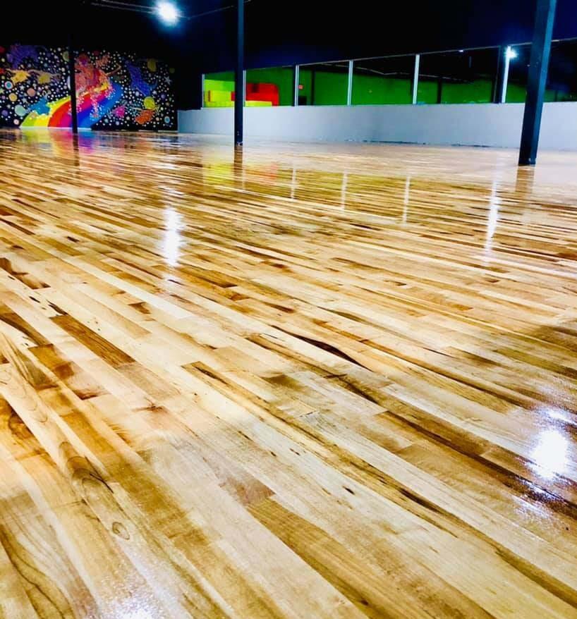indoor roller skating rinkn